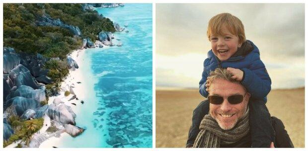 Rob fastnade på en ö i Stilla havet och berättade hur himmelsk plats förvandlades